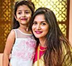 Rafiath Rashid Mithila with her daughter