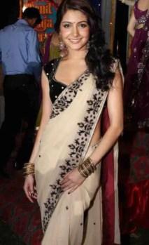 Anushka Sharma Saree Photo