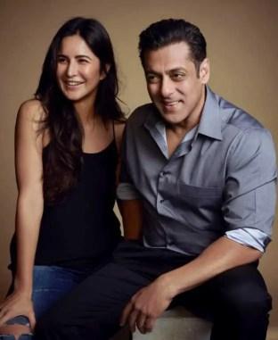 Katrina Kaif with Salman Khan