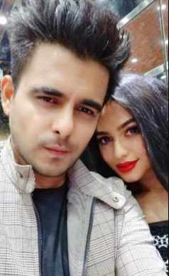 Nuarat Faria with Siam Ahmed Photo