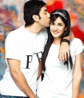 Ranbir Kapoor with Katrina Kaif