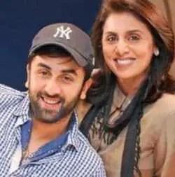 Ranbir Kapoor with Neetu Singr