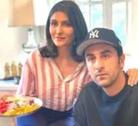 Ranbir Kapoor with Riddhima Kapoor Sahani
