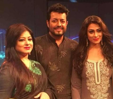 Sadika Parvin Popy  with Omar Sani & Moushumi