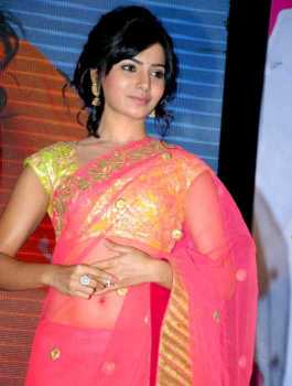 Samanta Akkineni Saree Photo