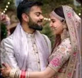 Anushka Sarma with her husband