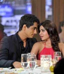 Samantha Akkineni with Siddharth
