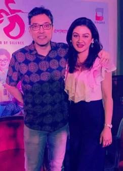 Anupam Roy with Jaya Ahsan