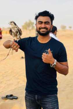 Imran Mahmudul with Eagle