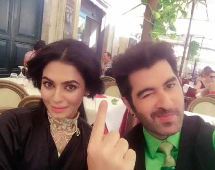Jeet Selfie with Nusrat Faria