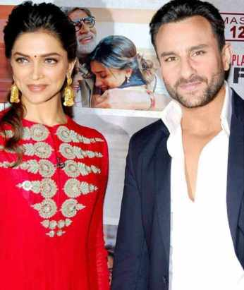 Saif ali khan With Deepika Padukone