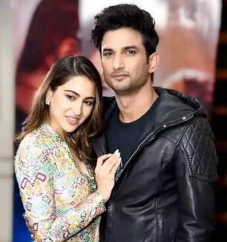 Sara Ali Khan With Sushant Singh Rajput