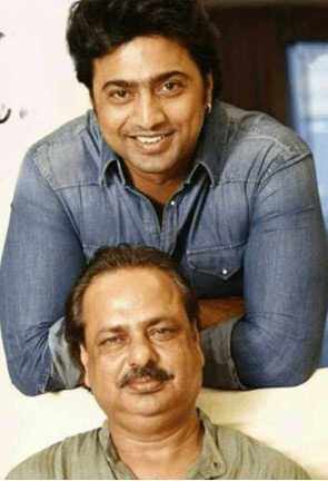Dev with his father Picture