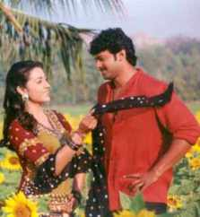 Trisha Krishnan with Prabhas