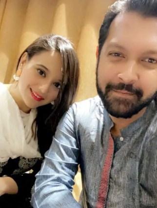 Sabila Nur With Tahsan Rahman Khan