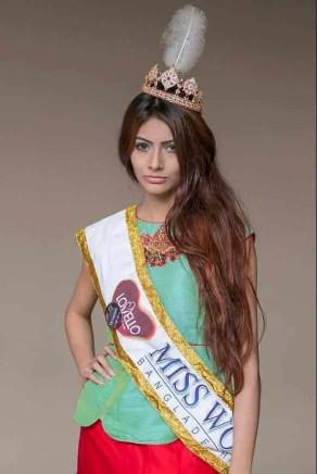 Jessia Islam with Miss World 2017