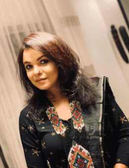Meher Afroz Shaon with Black Dress Photo