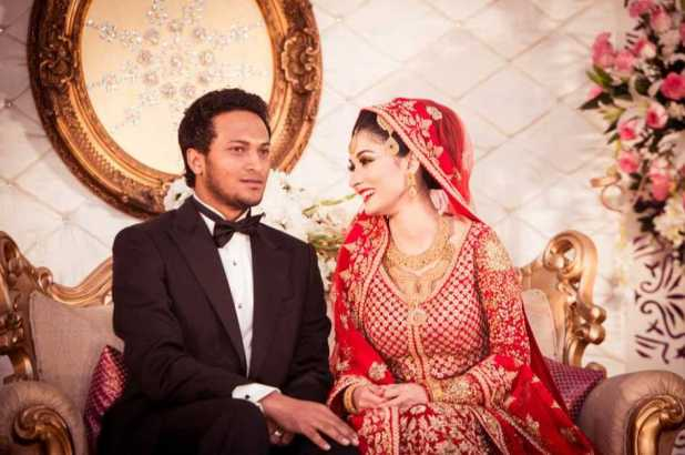 Shakib Al Hasan and Umme Ahmed Shishir marriage photo 3