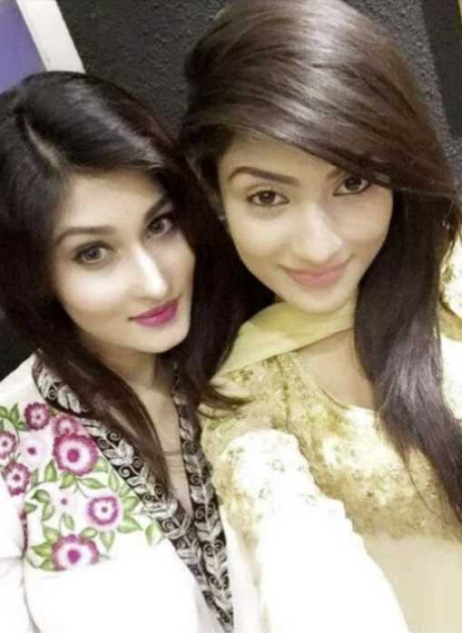 Umme Ahmed Shishir and her sister photo