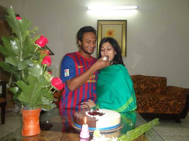 Umme Ahmed Shishir birthday celebration pic
