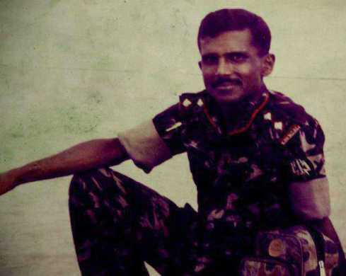 Hasan Masood Army Picture