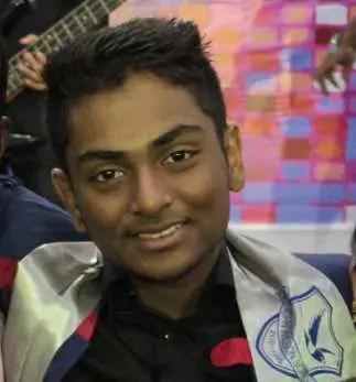Hasan Masood's son's Image