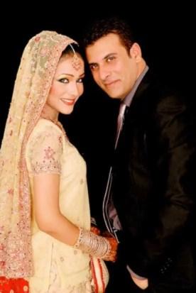 Humaima Malick with her Husband