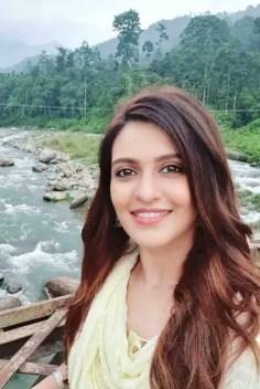 Priyanka Sarkar Selfie