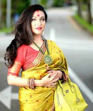 Rituparna Sengupta Saree Image
