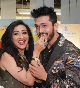 Rituparna Sengupta with Arifin Shuvoo