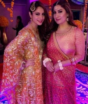 Saima Noor with her co-artist