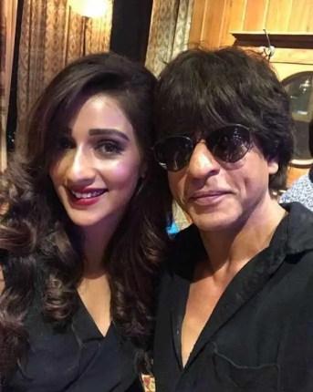 Sayantika Banarjee with Shah Rukh Khan