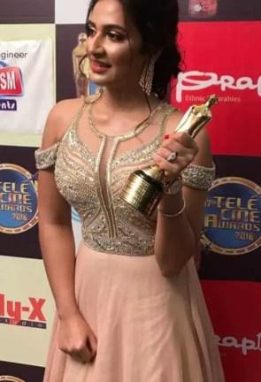 Subhashree Ganguly Awards Photo