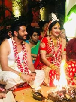 Subhashree Ganguly Wedding Photo