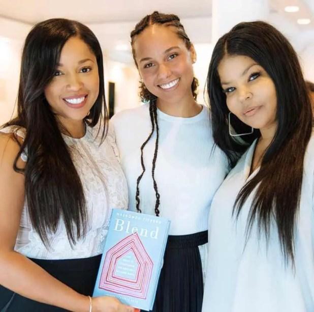 Misa Hylton with Alicia Keys & Mashonda