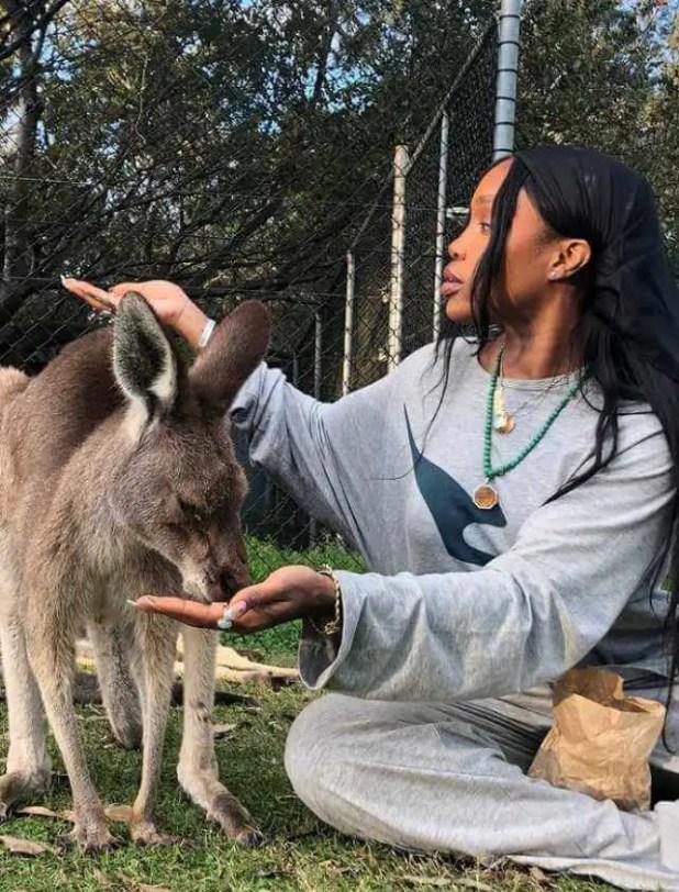 SZA with Koala