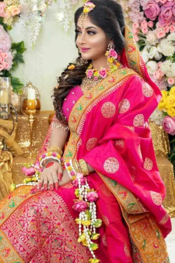 Nusrat Jahan Ontora wedding style Photo