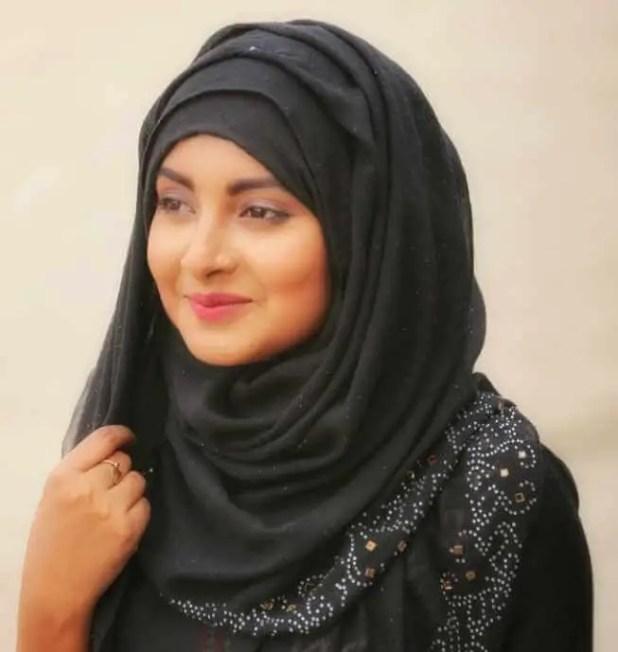 Nusrat Jahan Ontora with Hijab Photo