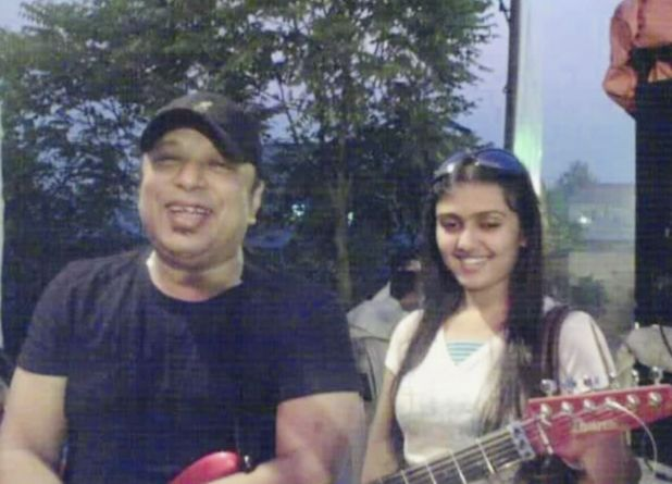 DJ Sonica withi singer Ayub Bacchu