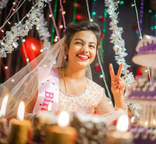 Beauty Khan Birthday Pic