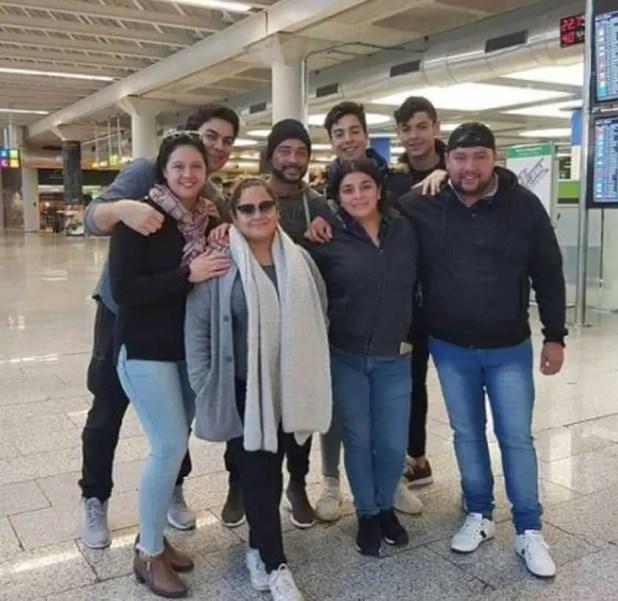 Naim Darrechi Family Photo
