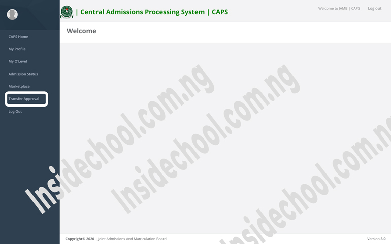 JAMB CAPS MOBILE WEBVIEW - JAMB CAPS Portal 2021: How to ACCEPT or REJECT Admission Offer