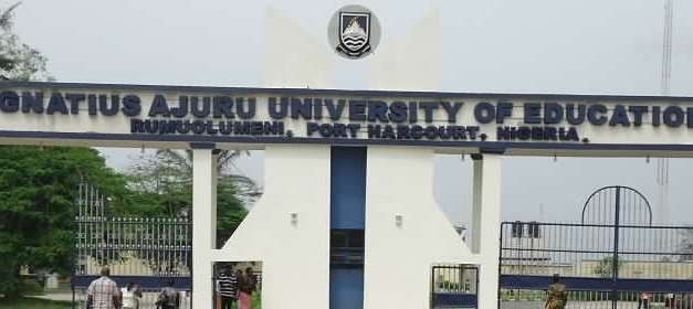 Ignatius Ajuru University Of Education (IAUE) Supplementary Admission into Some Programme for 2020/2021 Admission Exercise