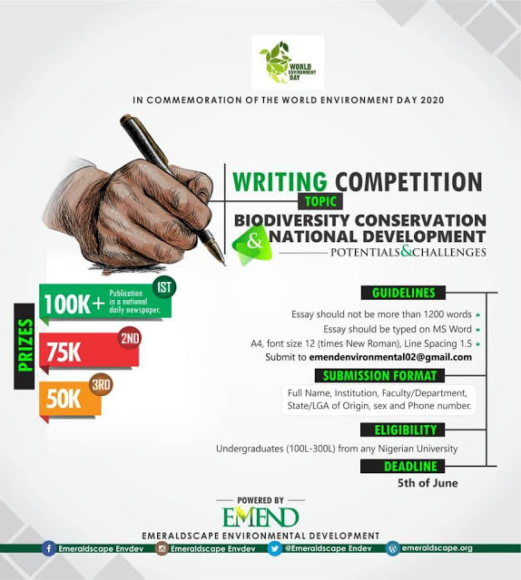 Essay - EMEND Essay Writing Competition 2020- Apply Now