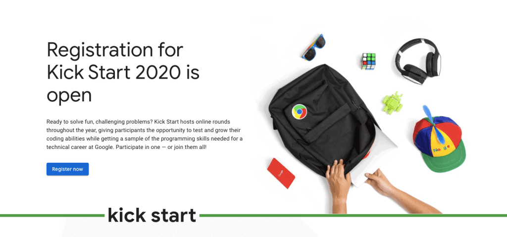 Google Kick Start 2020 1024x479 - Google Kick Start 2020 Online Coding Contest ($15,000 + Google Career)