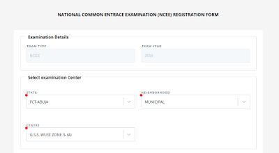ncee correction of data 2 - NCEE 2020/2021 Registration Form for Unity Schools [Photos]