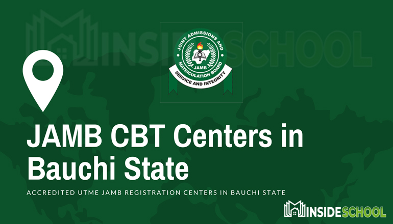 JAMB CBT Centers in Bauchi State - JAMB Accredited CBT Centres in Bauchi State for UTME Registration