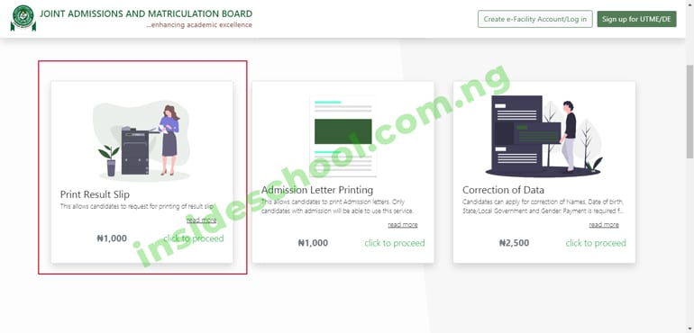 jamb result slip - How to Print JAMB Original Result Slip Online [VIDEO]