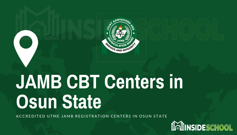JAMB CBT Centres in Osun State - JAMB Accredited CBT Centres in Osun State for UTME Registration