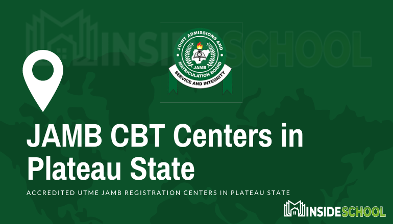 JAMB CBT Centres in Plateau - JAMB Accredited CBT Centres in Plateau State for UTME Registration